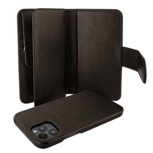 Piel Frama 859 Brown WalletMagnum Leather Case for Apple iPhone 12 Pro Max