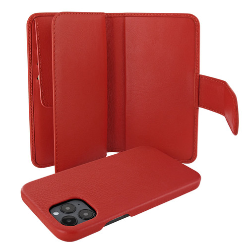 Piel Frama 859 Red WalletMagnum Leather Case for Apple iPhone 12 Pro Max
