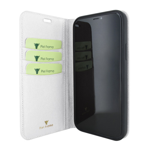 Piel Frama 860 White FramaSlimCards Leather Case for Apple iPhone 12 Pro Max