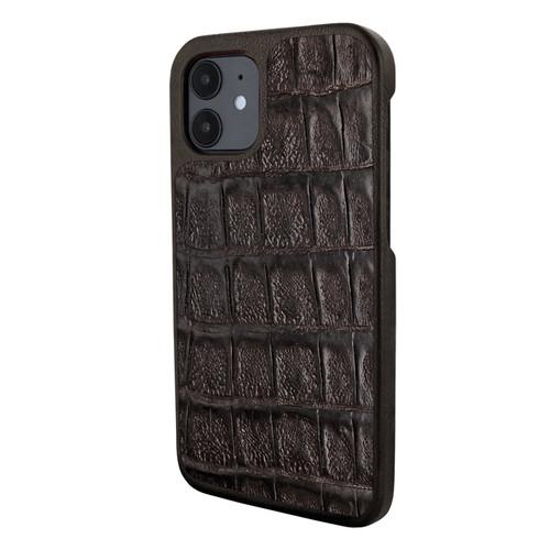 Piel Frama 861 Brown Wild Crocodile LuxInlay Leather Case for Apple iPhone 12 mini