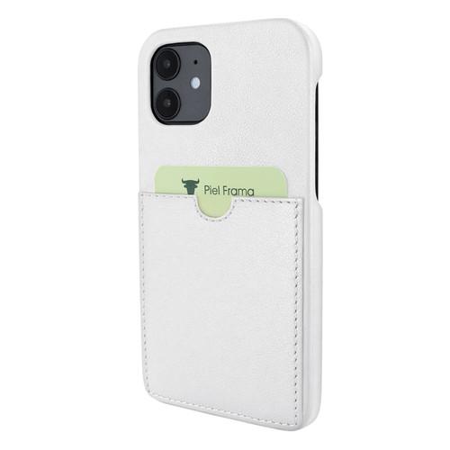 Piel Frama 861 White FramaSlimGrip Leather Case for Apple iPhone 12 mini