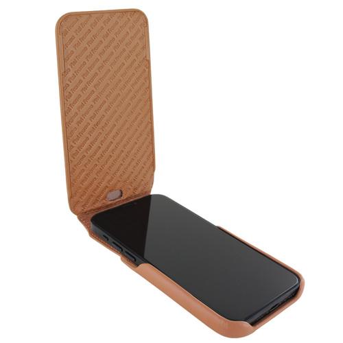 Piel Frama 863 Tan iMagnum Leather Case for Apple iPhone 12 mini