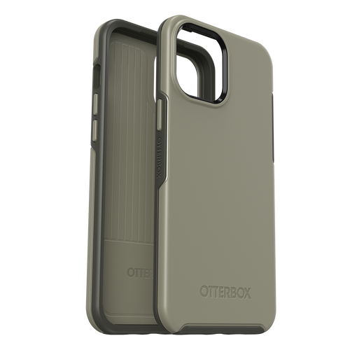 Otterbox - Symmetry Antimicrobial Case for Apple iPhone 12 Pro Max - Earl Grey