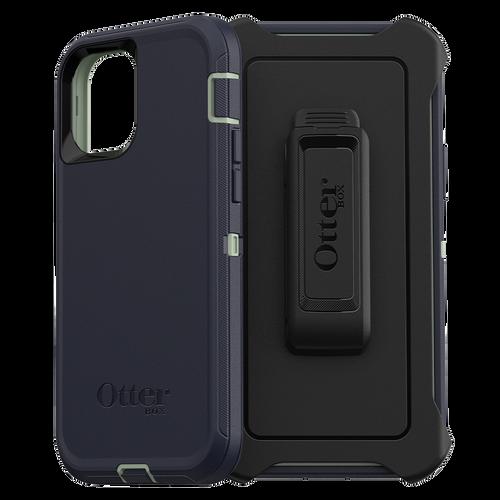 Otterbox - Defender Case for Apple iPhone 12  /  12 Pro - Varsity Blues
