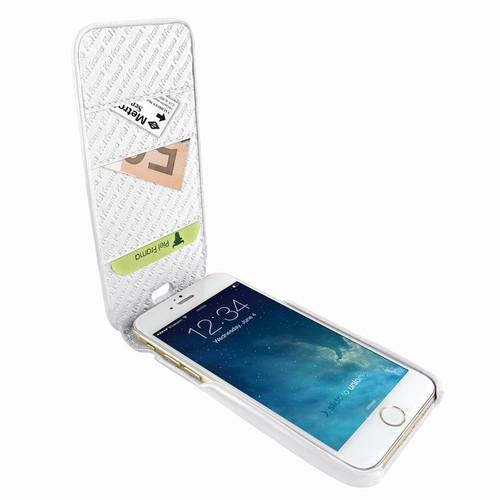 Piel Frama 765 White iMagnumCards Leather Case for Apple iPhone 7 Plus / 8 Plus