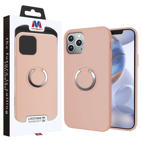 MyBat Halo Series Hybrid Case for Apple iPhone 12 (6.1) - Rose Gold