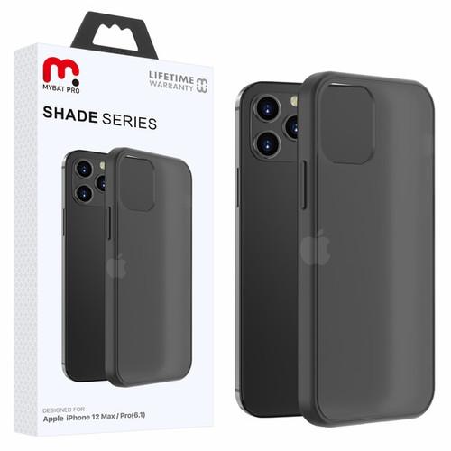 MyBat Pro Shade Series Hybrid Case for Apple iPhone 12 (6.1) - Semi Transparent Smoke