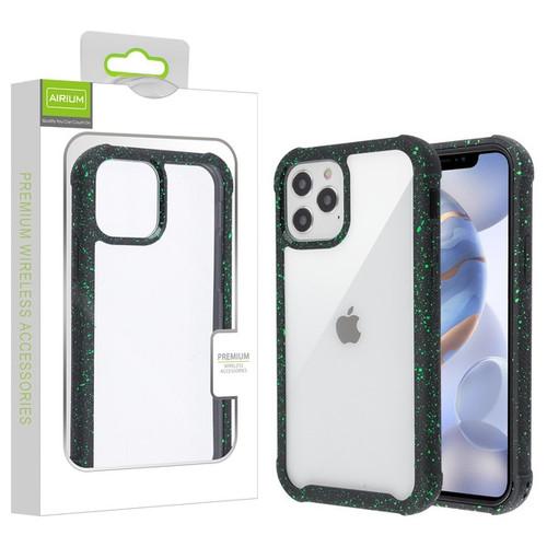 Airium Splash Hybrid Case for Apple iPhone 12 (6.1) - Highly Transparent Clear / Black