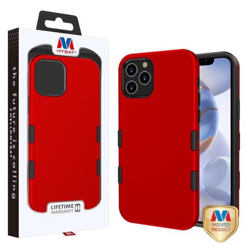 MyBat TUFF Subs Hybrid Case for Apple iPhone 12 (6.1) - Titanium Red / Black