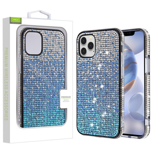 Airium Crystals Sparks Case for Apple iPhone 12 (6.1) - Blue Gradient