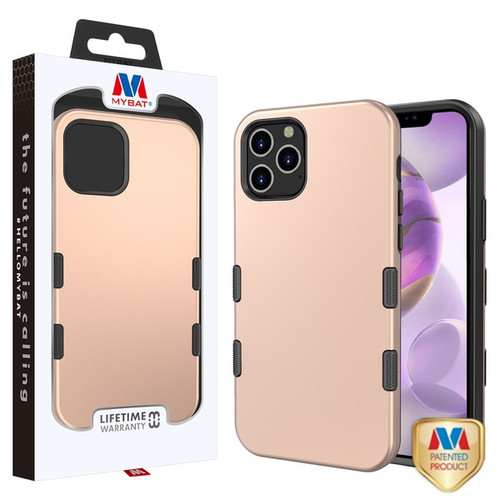 MyBat TUFF Subs Hybrid Case for Apple iPhone 12 Pro Max (6.7) - Rose Gold / Black