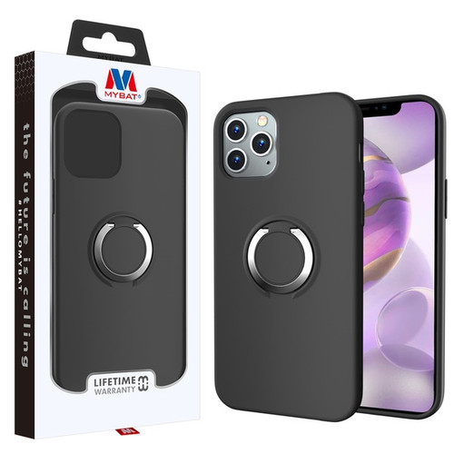 MyBat Halo Series Hybrid Case for Apple iPhone 12 Pro Max (6.7) - Black