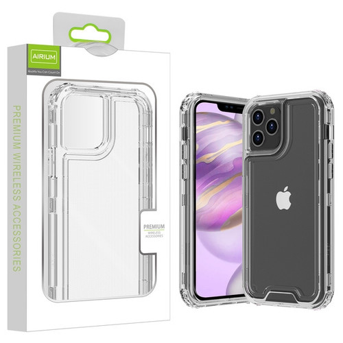 Airium Hybrid Protector Cover for Apple iPhone 12 Pro Max (6.7) - Transparent Clear / Transparent Clear