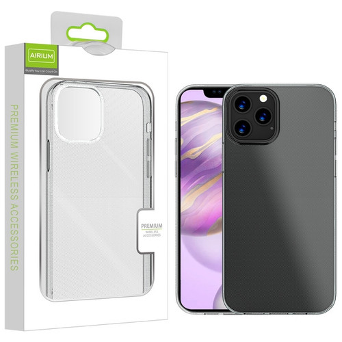 Airium Candy Skin Cover for Apple iPhone 12 Pro Max (6.7) - Glossy Transparent Clear