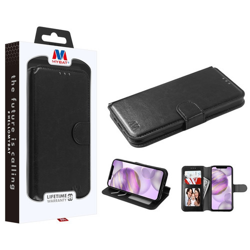 MyBat MyJacket Wallet Element Series for Apple iPhone 12 Pro Max (6.7) - Black