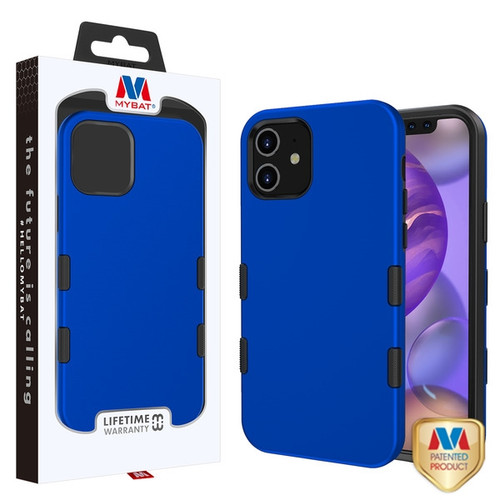 MyBat TUFF Subs Hybrid Case for Apple iPhone 12 mini (5.4) - Titanium Dark Blue / Black