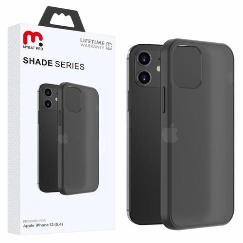 MyBat Pro Shade Series Hybrid Case for Apple iPhone 12 mini (5.4) - Semi Transparent Smoke