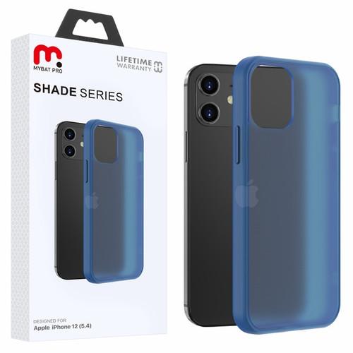 MyBat Pro Shade Series Hybrid Case for Apple iPhone 12 mini (5.4) - Semi Transparent Navy Blue