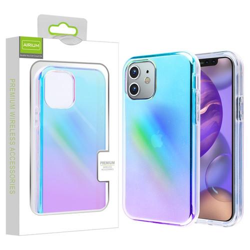 Airium Frame Hybrid Case for Apple iPhone 12 mini (5.4) - Colorful Stars Transparent