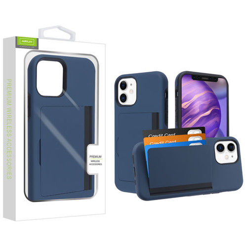 Airium Poket Hybrid Protector Cover for Apple iPhone 12 mini (5.4) - Ink Blue / Black