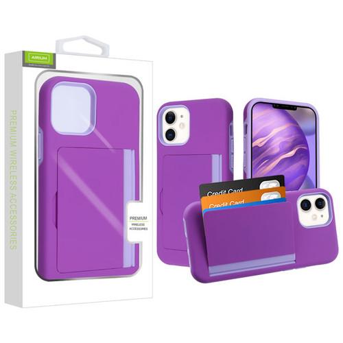 Airium Poket Hybrid Protector Cover for Apple iPhone 12 mini (5.4) - Purple / Light Purple
