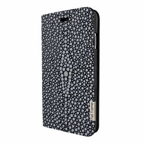 Piel Frama 767 Black Stingray FramaSlimCards Leather Case for Apple iPhone 7 Plus / 8 Plus