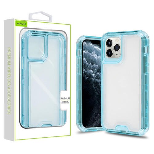 Airium Hybrid Protector Cover for Apple iPhone 11 Pro - Transparent Baby Blue / Transparent Clear