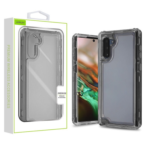 Airium Hybrid Protector Cover for Samsung Galaxy Note 10 (6.3) - Transparent Smoke / Transparent Clear