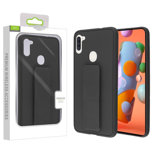 Airium Hybrid Case (with Foldable Stand) for Samsung Galaxy A11 - Black