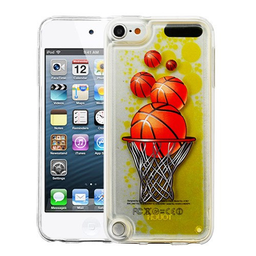 Airium Hybrid Protector Cover for Apple iPod touch (6th generation) - Basketball Hoop & Yellow Oil AquaLava
