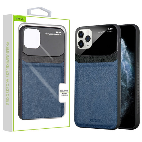 Airium Leather Protector Cover for Apple iPhone 11 Pro - Ink Blue