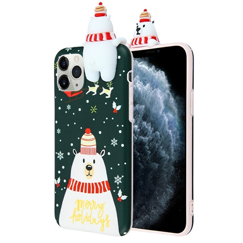 Airium Candy Skin Cover for Apple iPhone 11 Pro - Christmas Bear
