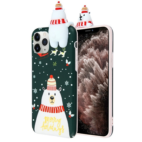 Airium Candy Skin Cover for Apple iPhone 11 Pro Max - Christmas Bear
