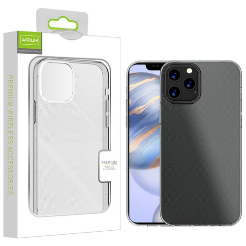 Airium Candy Skin Cover for Apple iPhone 12 (6.1) - Glossy Transparent Clear