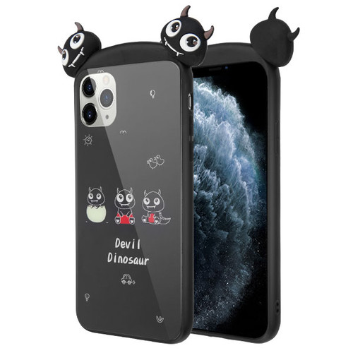 Airium Tempered Glass Backing Executive Protector Cover for Apple iPhone 11 Pro - Devil