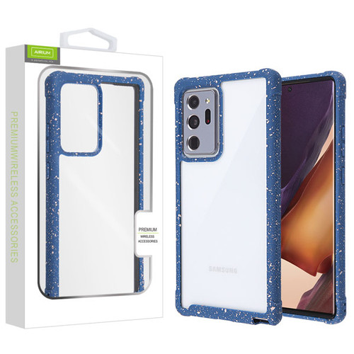 Airium Splash Hybrid Case for Samsung Galaxy Note 20 Ultra - Highly Transparent Clear / Blue