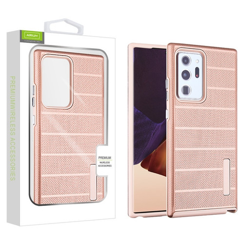 Airium Fusion Protector Case for Samsung Galaxy Note 20 Ultra - Rose Gold Dots Textured / Rose Gold
