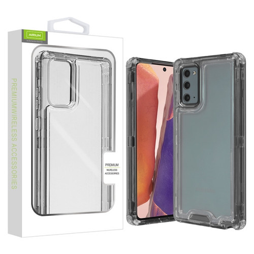 Airium Hybrid Protector Cover for Samsung Galaxy Note 20 - Transparent Smoke / Transparent Clear