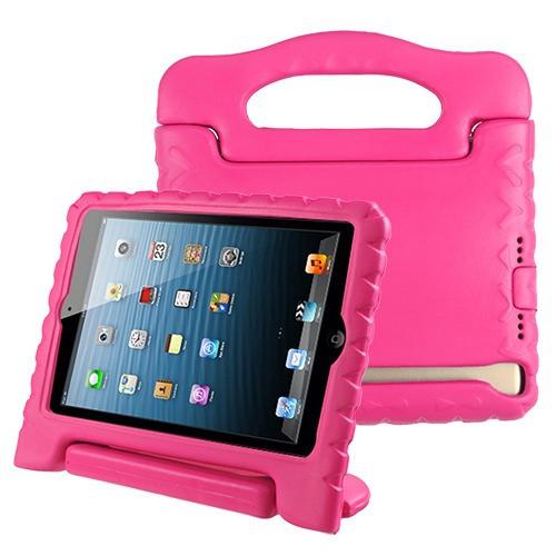 Airium Handbag Kids Drop-resistant Protector Cover for Apple iPad mini (A1432,A1454,A1455) - Hot Pink