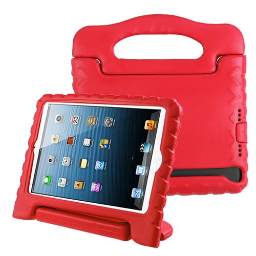 Airium Handbag Kids Drop-resistant Protector Cover for Apple iPad mini (A1432,A1454,A1455) - Red