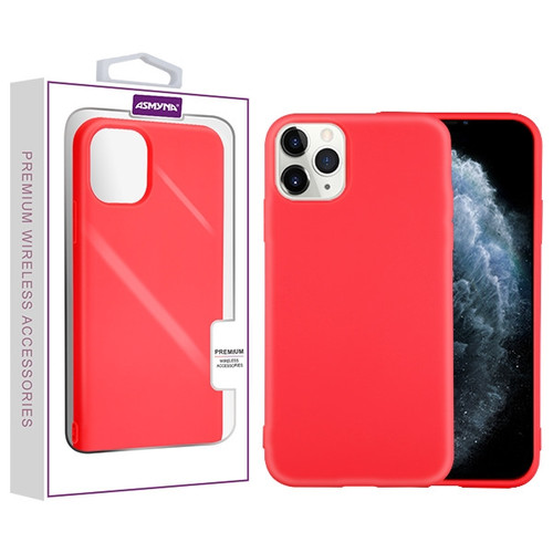 Asmyna Candy Skin Cover for Apple iPhone 11 Pro - Red