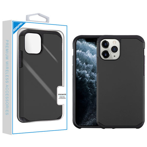 Asmyna Astronoot Protector Cover for Apple iPhone 11 Pro - Black / Black