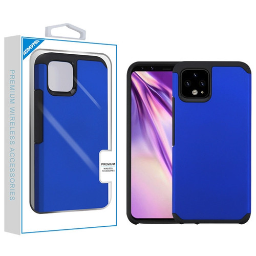 Asmyna Astronoot Protector Cover for Google Pixel 4 XL - Blue / Black