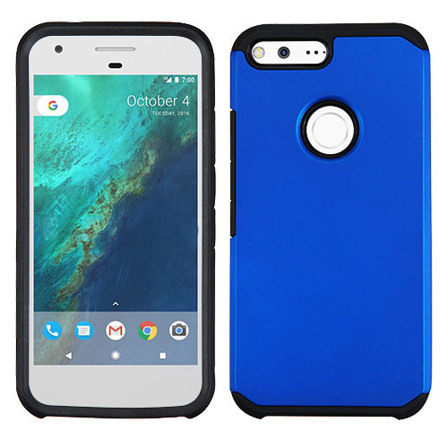 Asmyna Astronoot Protector Cover for Google Pixel XL (5.5) - Blue / Black