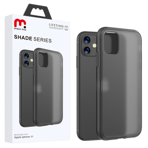 MyBat Pro Shade Series Hybrid Case for Apple iPhone 11 - Semi Transparent Smoke