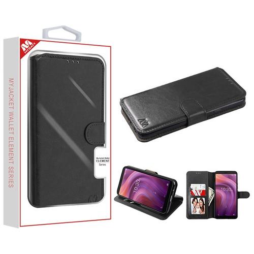 MyBat MyJacket Wallet Element Series for Alcatel 5032w (3v 2019) - Black