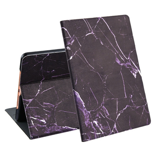 MyBat Marble MyJacket Wallet for Apple iPad 10.2 (2019) (A2197, A2200, A2198) - Black
