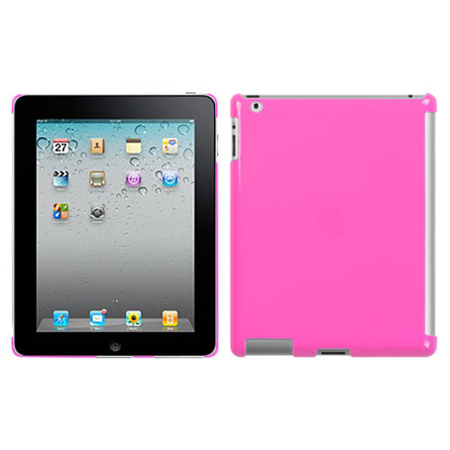 MyBat SmartSlim Back Protector Cover for Apple iPad 2 (A1395,A1396,A1397) - Natural Blush