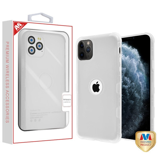MyBat TUFF Klarity Lux Candy Skin Cover for Apple iPhone 11 Pro - Semi Transparent White Frost