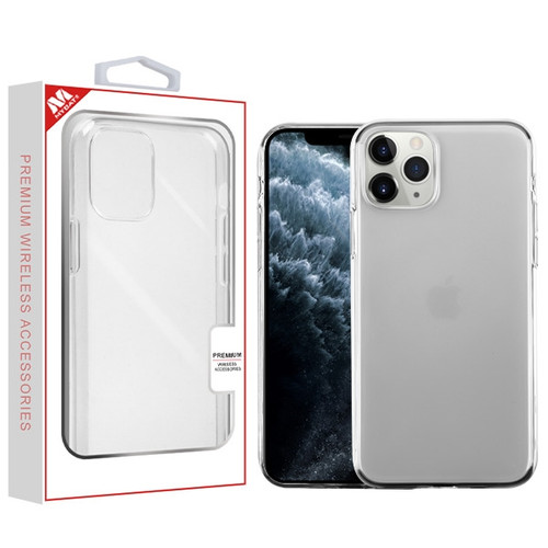 MyBat Candy Skin Cover for Apple iPhone 11 Pro - Glossy Transparent Clear